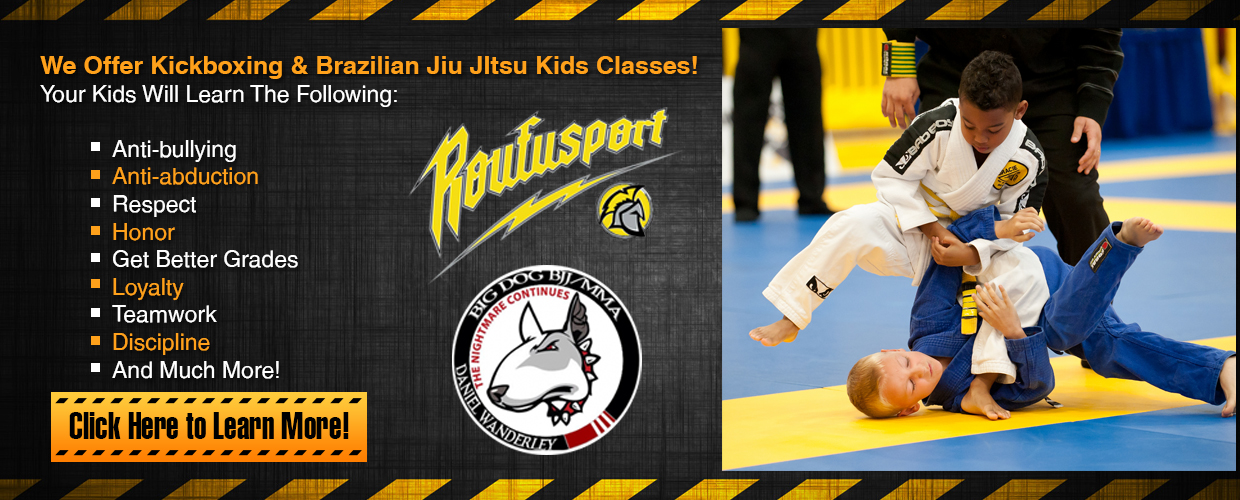 Kids Martial Arts Classes Slide